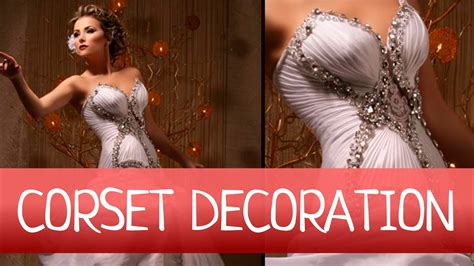 easy decorate wedding  evening gown  drapery