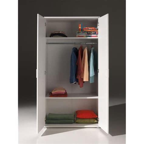 porte de chambre pas cher milan armoire 2 portes blanche achat vente armoire de