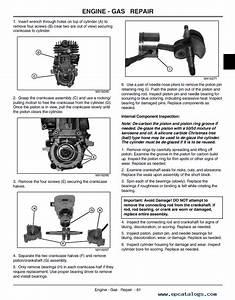 John Deere Chainsaws Cs Tm1917 Technical Manual Pdf