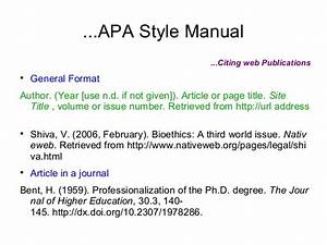 apa citing dissertation conclusion for education essay apa style