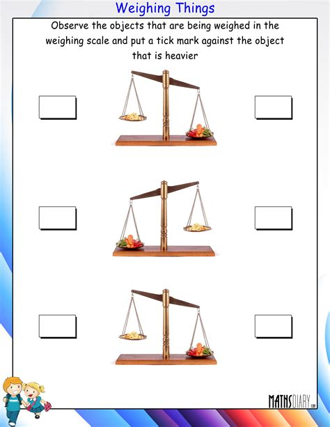 weighing scales worksheets year 3 fruity scales a year 3