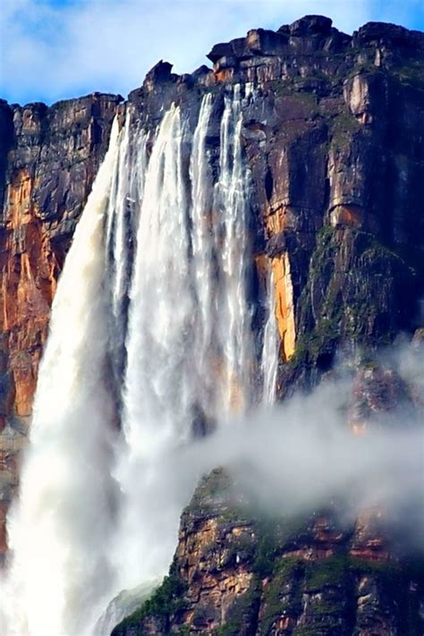 angel falls worlds highest water wallpaper allwallpaper