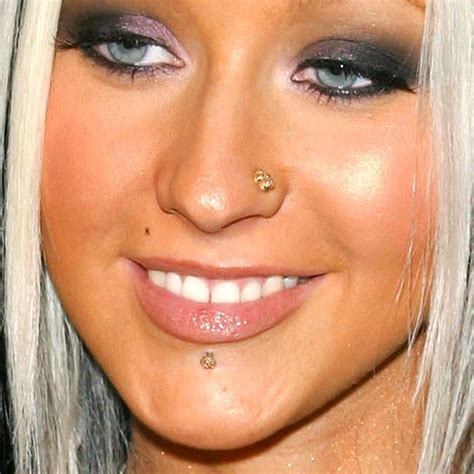 Christina Aguilera's Piercings & Jewelry   Steal Her Style