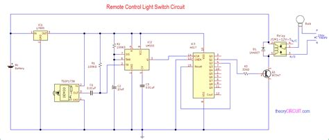 Remote Control Light Switch
