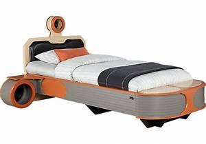Star Wars Landspeeder™ Orange 5 Pc Twin Panel Bed with