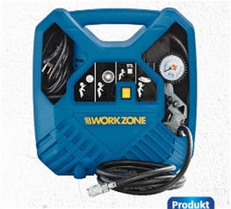 Aldi Süd 1242017 Workzone Mobiler Kompressor Im Angebot