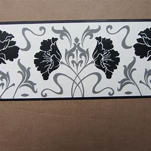 Contemporary Flower Wallpaper Border Ebay Pictures Picture ...
