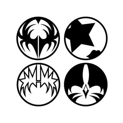 army cake toppers these 4 iconic logos were created by gregg gordon gigart