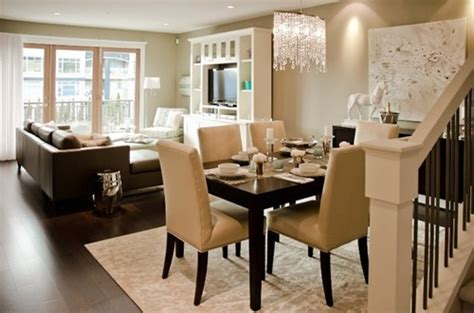 tricks  decorate  living room  dining room combo