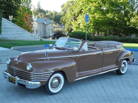 Chrysler Crown Imperial by 1942 Chrysler Crown Imperial C37 8 Passenger Limousine