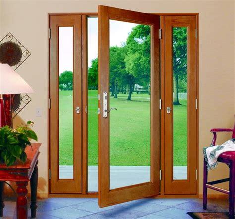 milgard ultra door with operable sidelights