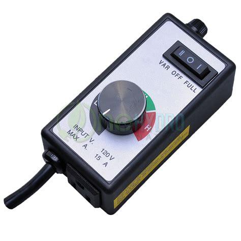 Variable Fan Speed Controller Inline Fan Speedster