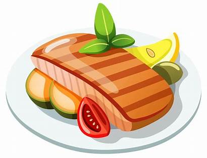 Steak Clipart Clip Grilled Drawing Vector Clipartix