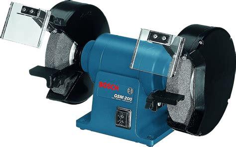 bench grinder reviews bosch bench grinder 700w gsm 200 sanding