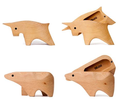 bull and wood boxes interior design ideas