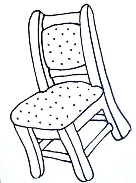 la chaise de la sorciere coloriages objets