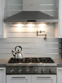 sacks kitchen backsplash 20 stainless steel kitchen backsplashes hgtv