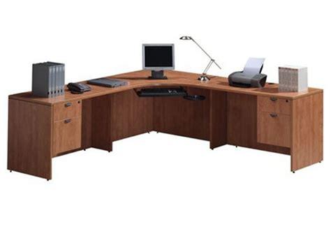 bureau coin bureau en coin classique aux choix de retours et caissons