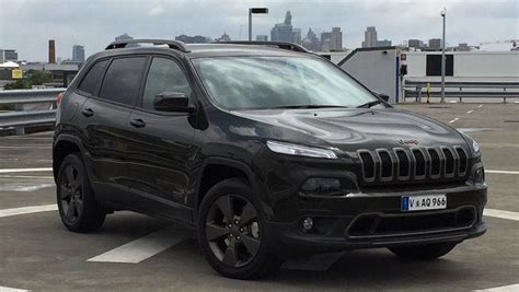 black jeep cherokee 2016 jeep cherokee 75th anniversary edition 2016 review road