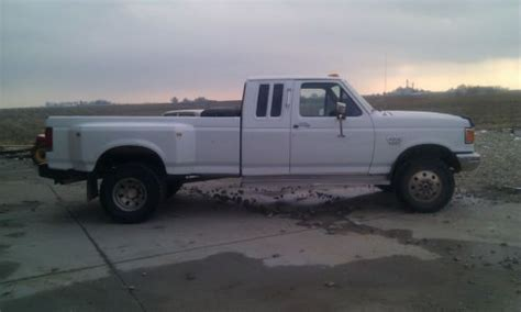 sell used 1990 ford f350 4x4 diesel in williams iowa