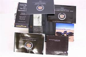 2005 Cadillac Escalade Esv Owners Manual  Case  Navigation Dvd