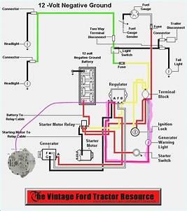 Ford 4000 Generator Wiring Diagram  U2013 Bestharleylinks Info