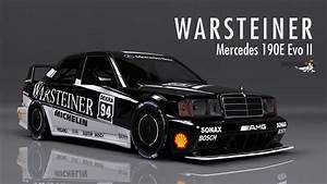 Warsteiner Merc 190 Evo II DTM RaceDepartment