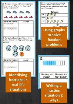 grade unit test fractions parts   parts