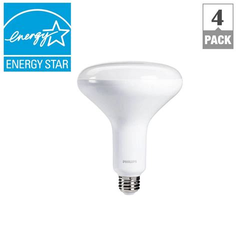 philips 65w equivalent daylight br40 dimmable led flood
