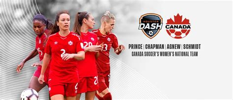 houston dash players named  canadian womens
