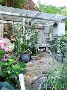 Pflanzen Im Juli : pflanzzimmer gartenzimmer eingerichtet im shabbychic hortensienbl te im juli ~ Orissabook.com Haus und Dekorationen