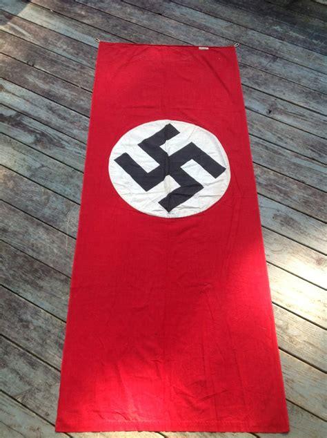 nazi banner war souvenir