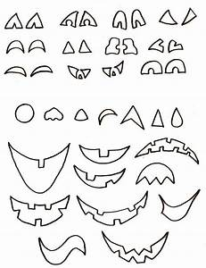 Visage Citrouille Halloween : gabarit visages citrouille d 39 halloween halloween pinterest gabarit halloween et visages ~ Nature-et-papiers.com Idées de Décoration