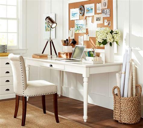 pottery barn white desk printer 39 s writing desk large pottery barn