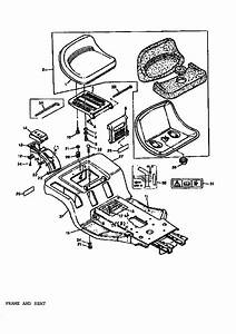 Frame And Seat Diagram  U0026 Parts List For Model