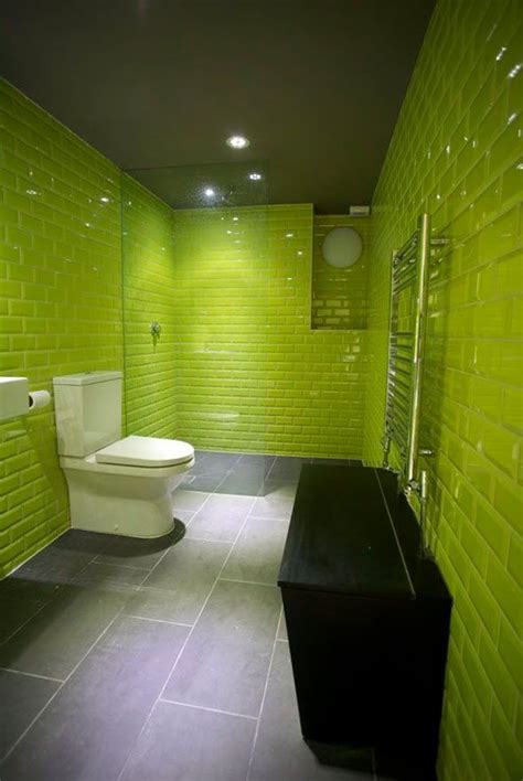 Green Bathroom Ideas by 35 Lime Green Bathroom Wall Tiles Ideas And Pictures