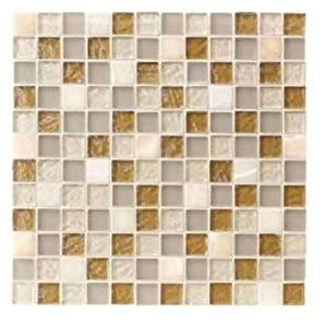 icj 99099 12 inch by 12 inch mosaic wall tile ceramic