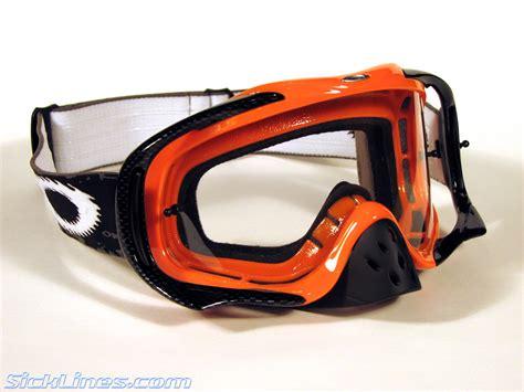 oakley motocross goggle oakley crowbar mx goggle review sick lines mountain