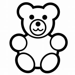 Teddy Bear Clipart Black And White | Clipart Panda - Free ...
