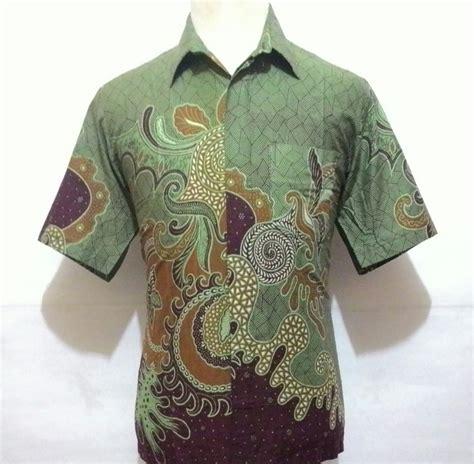 jual beli kemeja batik pekalongan pria baju batik