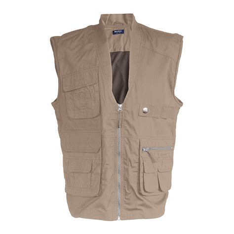 gilet reporter homme gilet reporter indy multipoches kariban