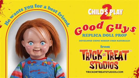 officially licensed childs play  chucky doll  trick