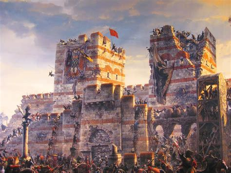 the siege of constantinople finermanworks byzantine empire crafting words with impact