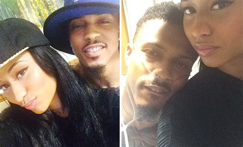 August Alsina Gets A Visit From Nicki Minaj In The Hospital