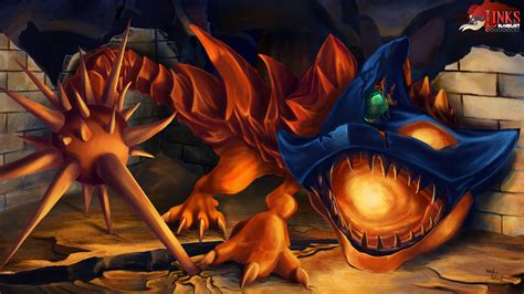 The Helmasaur King From Zelda A Link To The Past