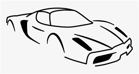 The casting had two known releases and was discontinued about a year or two after its release. Ferrari Silhouette Png - Ferrari Sketch Png Transparent ...