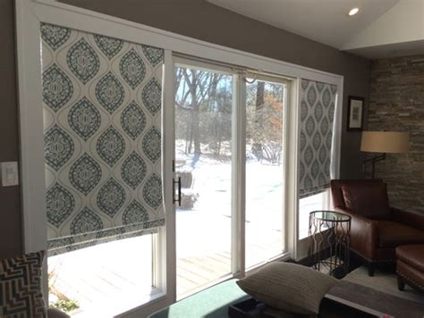 window covering for sliding doors