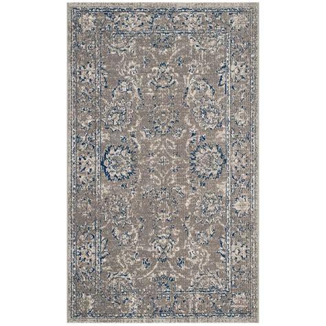 blue grey area rug safavieh artisan grey blue 3 ft x 5 ft area rug