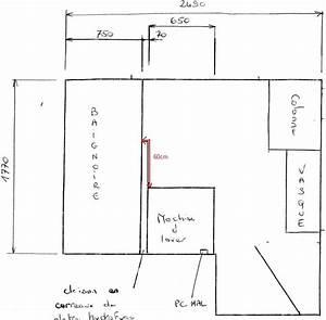 plan salle de bain en longueur plans de cuisine fermee 3 With exceptional plan maison 5 pieces 12 dessiner des plans fonctionnels conseils thermiques