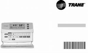 Trane Xt300c  Xt302c Manual